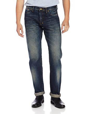 Prps Mens Barracuda Regular Fit Straight Leg Selvedge Jean in One Year, One Year, 38