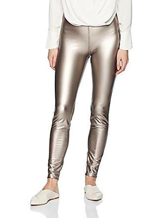 Lyssé Womens Jones Vegan Leather Legging, Metallic, XS