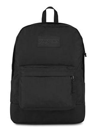 Jansport Mono Superbreak Backpacks - Black