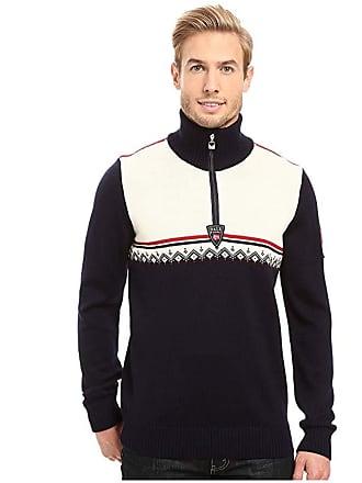 Dale of Norway Lahti Sweater (Navy/Raspberry) Mens Sweater