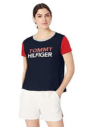 96c51ec09 Tommy Hilfiger Womens Short Sleeve T-Shirt Pajama Top Pj