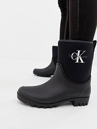 f6afa4bca86 Calvin Klein Botines de agua en negro Philippa de Calvin Klein Jeans