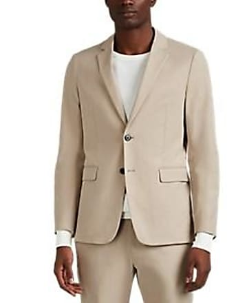 8c0a7079d8 Theory Mens Clinton Cotton Unstructured Sportcoat - Beige, Tan Size 40