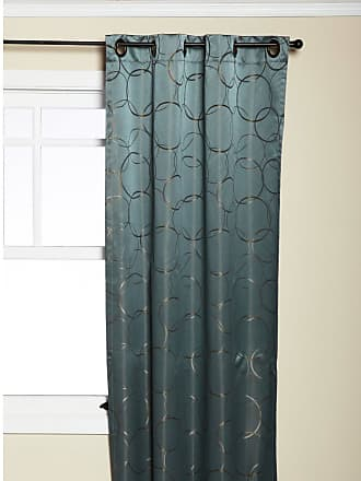 Eclipse Thermaback Meridian Grommet Blackout Window Panel River Blue - 11250042X084RVB