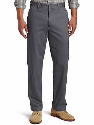 Dockers Mens Saturday Khaki D3 Classic-Fit Flat-Front Pant, Steelhead - discontinued, 40W x 30L
