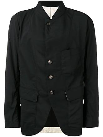 Ziggy Chen multi-pocket shirt jacket - Black