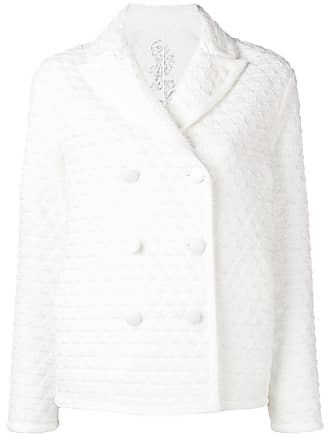 Ermanno Scervino quilted peacoat - White