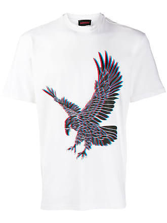 Intoxicated Camiseta 3D Eagle - Branco
