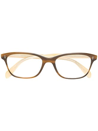 Oliver Peoples Óculos de grau Ashton - Marrom