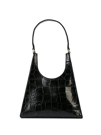 Staud textured shoulder bag - Preto