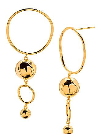 Gorjana Makena Tiered Hoop Drop Earrings