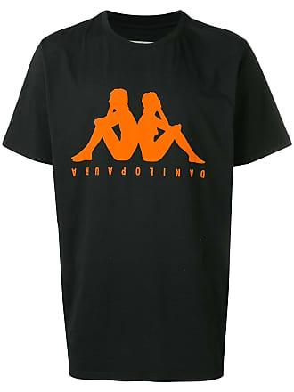 Paura Camiseta Kappa - Preto