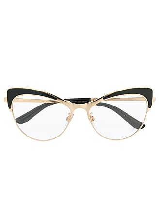Dolce & Gabbana Eyewear wingtip glasses - Black