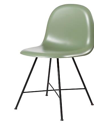 GUBI 1F HiRek Shell Chair Mistletoe Green