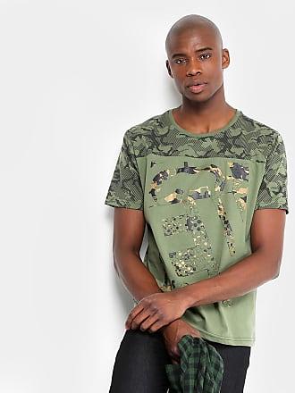Ecko Camiseta Camuflada Ecko Manga Curta Masculina - Masculino 61070b60c7ad9