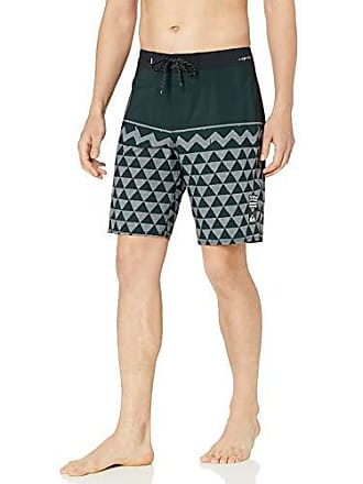 b3b22e14a8 Quiksilver Mens Highline Hawaii Variable 20 Boardshort Swim Trunk, Iron  gate, 32
