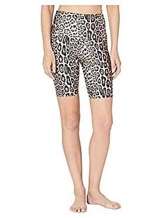 Onzie Womens Hig Rise Bike Short, Leopard, S/M
