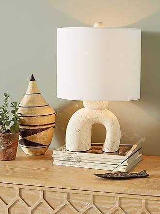 Anthropologie Mesa Ceramic Lamp Ensemble