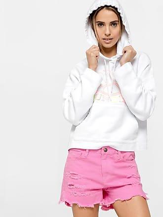 Sundek eirene- embroidery crop sweatshirt