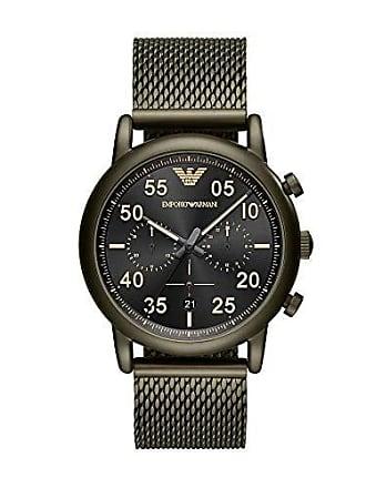 Emporio Armani Relógio Empório Armani Masculino Classic Luigi Verde Militar - Ar11115/1vn