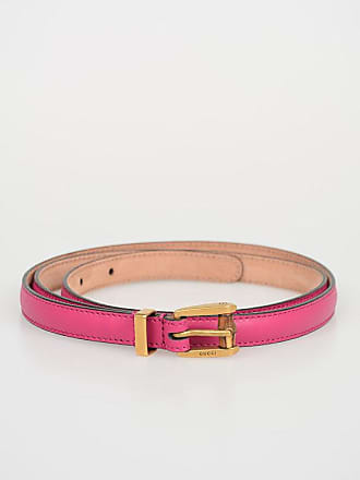 d6ced092a98 Gucci 15 mm BAMBOO Leather Skinny Belt size 100