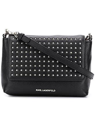 c31818942d96 Karl Lagerfeld sac à bandoulière K Korat à détails de clous - Noir