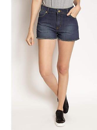 Aleatory Shorts Jeans Aleatory Feminino Treasure-Azul-42
