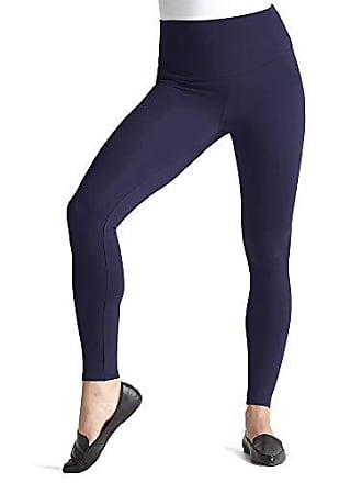 Yummie Tummie Womens Rachel Full Length Cotton Stretch Shapewear Legging, Peacoat, Large
