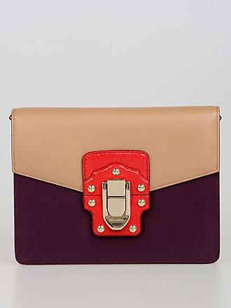da60ccbdcbaf Dolce   Gabbana Leather LUCIA Shoulder Bag with Ayers Skin Details size  Unica