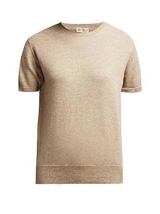 CONNOLLY Short Sleeved Cashmere Sweater - Womens - Beige