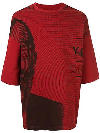 Yoshiokubo Camiseta oversized Money - Vermelho