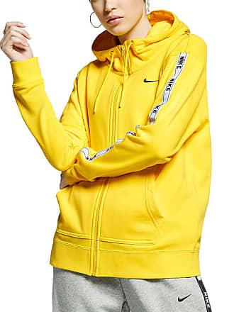 fb662bf87d66f Nike FELPA FULL ZIP CON CAPPUCCIO LOGO TAPE DONNA