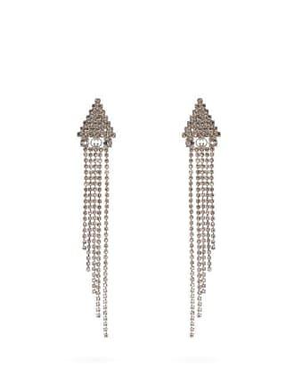 4823aaaa9 Gucci Crystal Embellished Drop Earrings - Womens - Crystal