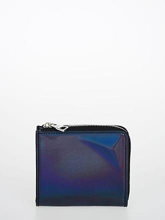 Alexander McQueen Patent Leather Wallet Größe Unica