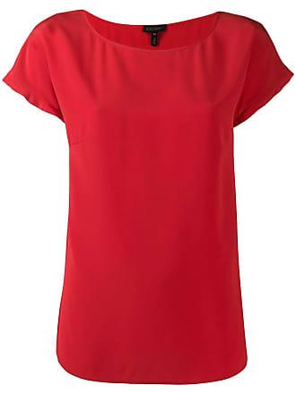 Escada shortsleeved blouse - Vermelho