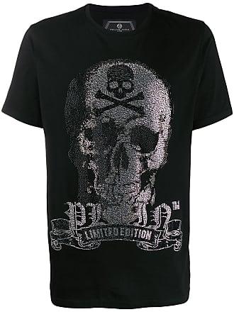 Philipp Plein Platinum Cut Skull T-shirt - Preto