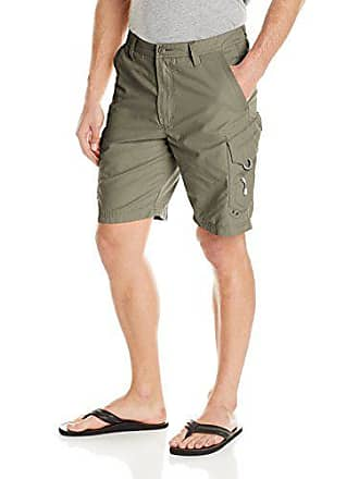 Quiksilver Waterman Mens Maldive 8 Chino Short, Army, 30