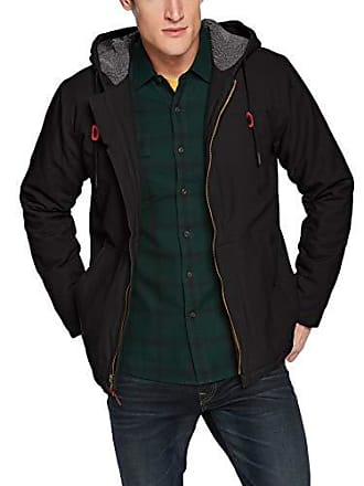 O'Neill Mens Detroit Jacket, Black, L