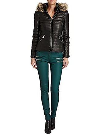 287bc85c436 Morgan Doudoune - Manches longues - Femme - Noir - FR   44 (Taille fabricant