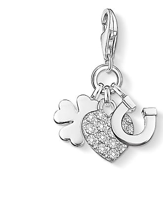 Thomas Sabo Thomas Sabo Charm pendant good luck white 0870-051-14