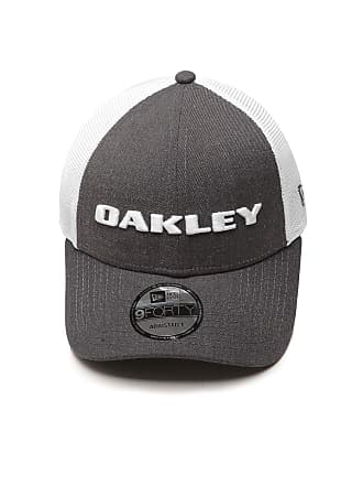 Oakley Boné Oakley Trucker Heather New Era Cinza Branco 3566008e1ec