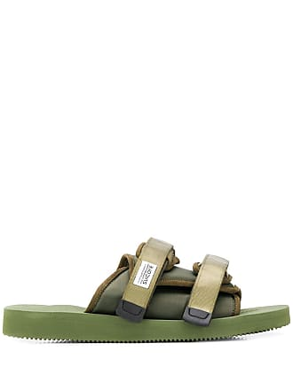 Suicoke touch strap slides - Green