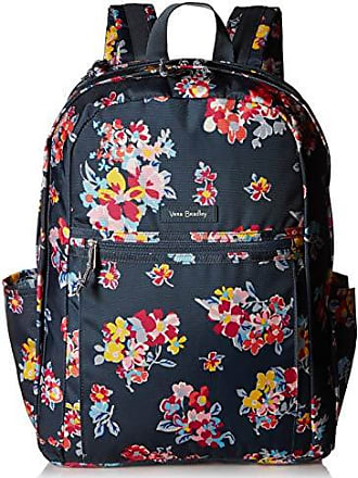 Vera Bradley Womens Lighten Up Grand Backpack, Tossed Posies