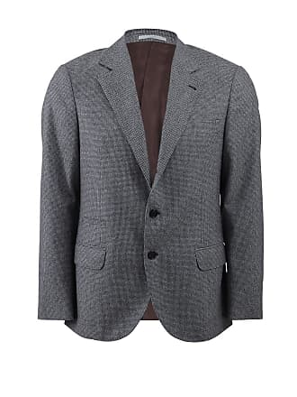 Brunello Cucinelli Check Suit Jacket