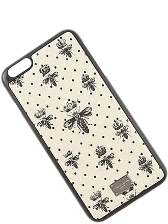 Dolce & Gabbana iPhone Cases On Sale in Outlet, Iphone 6 Plus Case, Cream, Leather, 2017, One size