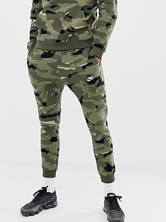 big sale ed0c2 b94f5 Nike Club - Pantalon de jogging motif camouflage - Vert AJ2111-325 - Vert