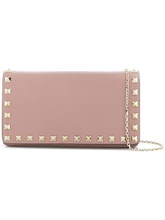 44911f6a2811 Valentino Valentino Garavani Rockstud crossbody bag - Pink