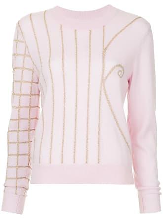 Onefifteen Suéter bordado - Rosa