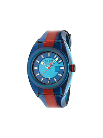 c993081345f metallic GG2570 web strap stainless steel watch - Multicoloured. USD   920.00. Delivery  free. Gucci Gucci SYNC
