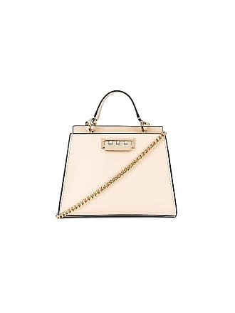 Zac Posen Earthette Double Compartment Mini Bag in Ivory